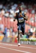 图文-奥运会男子400米预赛 梅里特的矫健步伐