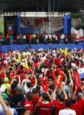 巴拿马国礼迎奥运英雄