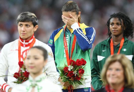 女子跳远巴西夺金