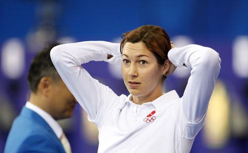 图文-奥运会女子现代五项赛况 赢的不是我?