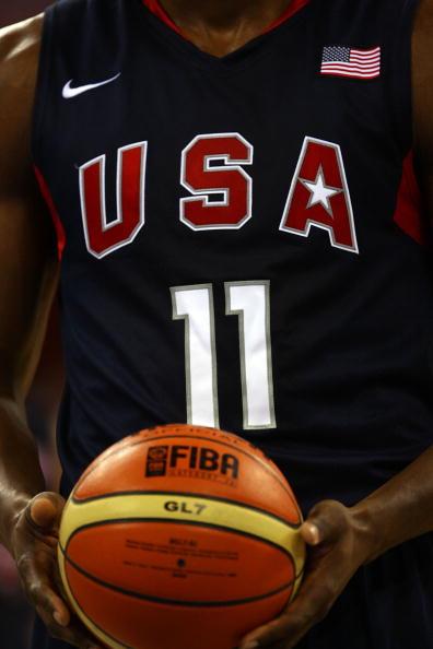 图文-安哥拉76-97美国男篮 美国男篮夺金热门