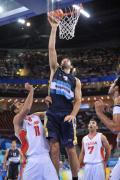 图文-[男篮小组赛]阿根廷97-82伊朗 十分轻松