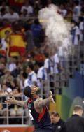 图文-男篮决赛美国战西班牙 迎接金牌时刻