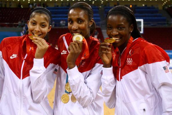 图文-[女篮决赛]美国92-65澳大利亚 金牌味道很甜