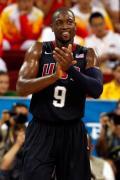 图文-美国男篮118-107西班牙 韦德开心比赛获胜