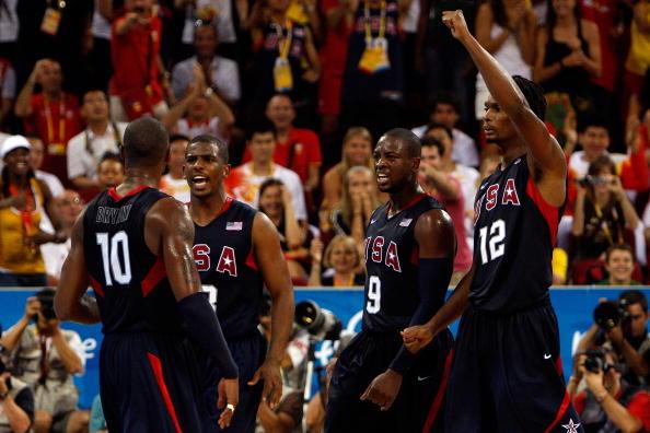 图文-美国男篮118-107西班牙 美国群星开心夺冠