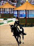 图文-奥运马术比赛三项赛盛装舞步 意大利帕尼宗