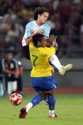 图文-奥运男足巴西VS阿根廷 扎戈让安德森发晕