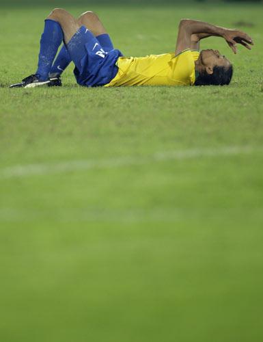 图文-女足美国1-0巴西夺金 玛塔如此伤悲