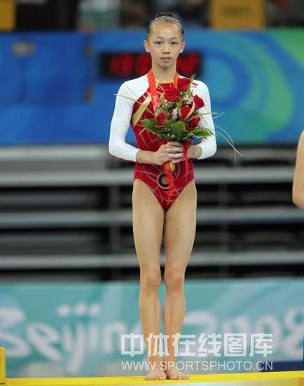 图文-体操女子个人全能决赛 中国小将杨伊琳