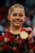 图文-奥运体操女子平衡木决赛 约翰逊拿到金牌