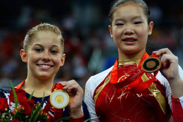 女子平衡木决赛程菲摘铜