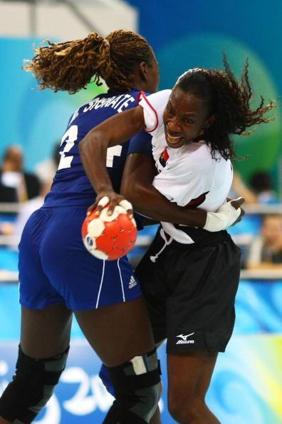 图文-北京奥运女手比赛开战 玛丽亚被强力阻挡