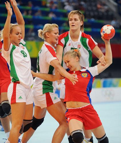图文-奥运会女子手球半决赛赛况 甭想过去