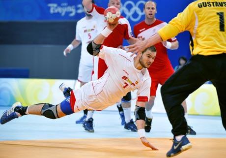 22日奥运男子手球赛况