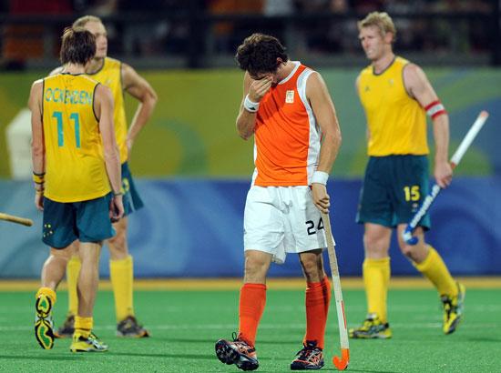 图文-澳大利亚男曲胜荷兰摘铜 有人欢喜有人愁