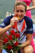图文-公路自行车女子个人计时赛 检验一下金牌成色
