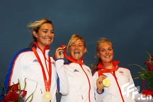帆船帆板赛产生首块金牌英国队收获英凌级金牌
