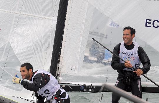 图文-多体船托纳多级西班牙夺金 比赛中率先冲线