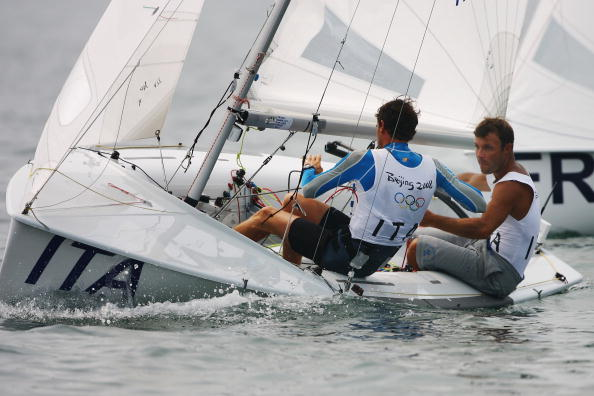 图文-奥运帆船帆板精彩回顾 队员技艺高超