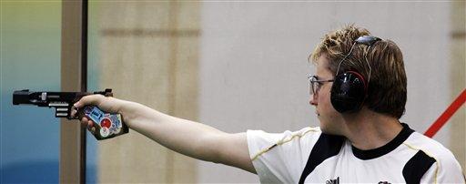 男子25米手枪速射决赛