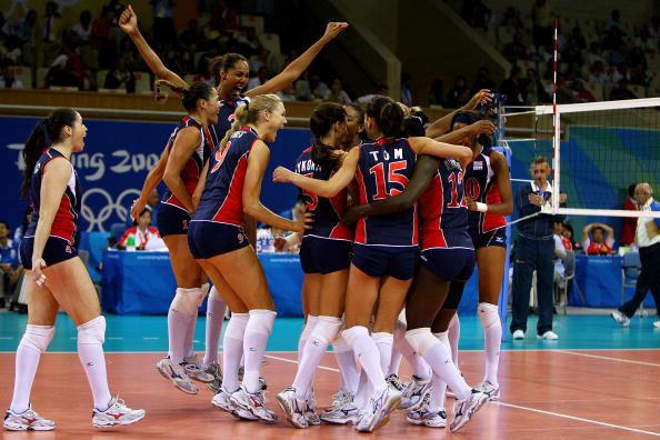 图文-女排半决赛美国3-0古巴 挺进决赛欣喜若狂