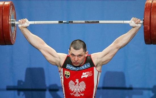 资料图-北京奥运会举重94公斤级银牌 科勒斯基