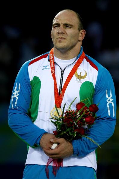 图文-摔跤男子自由式120KG级 塔伊马佐夫获金牌