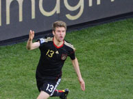德国4-0阿根廷 托马斯-穆勒