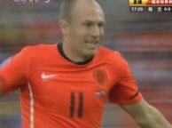 荷兰2-1斯洛伐克 罗本