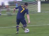 西班牙1-0巴拉圭 比利亚
