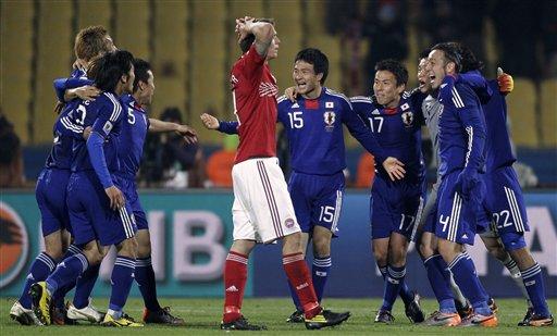 图文-[小组赛]丹麦1-3日本对手只能感叹