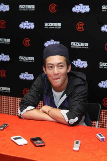 陈冠希:我最支持日本和加纳下一家店开在北京