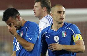 世界杯-追2球难救卫冕冠军意大利2-3负垫底出局