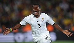 世界杯-加纳1-0点杀10人塞尔维亚非洲球队获首胜