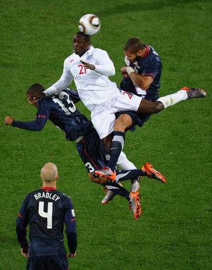图文-[小组赛]英格兰1-1美国赫斯基很神勇
