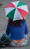 小伞也是国旗色