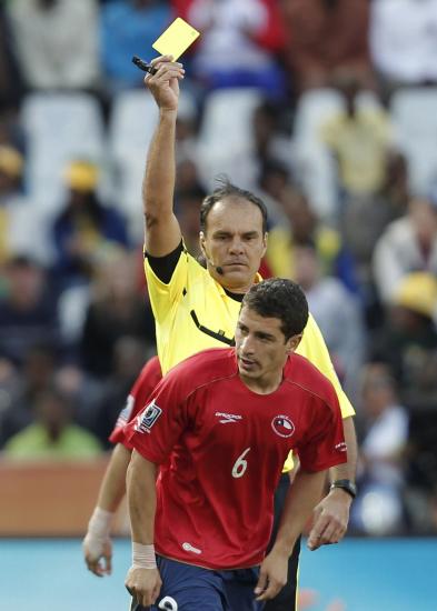 图文-[小组赛]洪都拉斯VS智利卡尔莫纳扭头就走