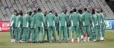 尼日利亚队集体祷告