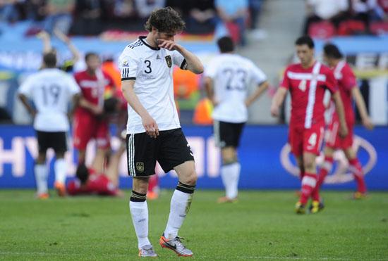 图文-[小组赛]德国0-1塞尔维亚弗雷德里希落寞
