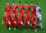葡萄牙队首发合影