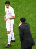 教练临场指挥