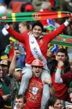 葡萄牙球迷欢呼