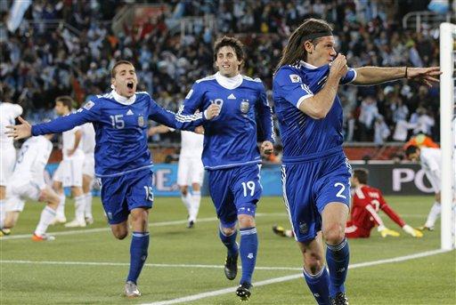 图文-[小组赛]希腊0-2阿根廷意外之人开和