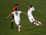 美国队庆祝进球