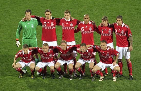 图文-[小组赛]丹麦VS日本丹麦队首发11虎将