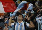 阿根廷球迷欢喜