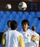 中村宪刚练习头球