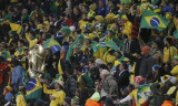 巴西球迷挥舞