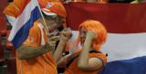 荷兰女球迷狂喜